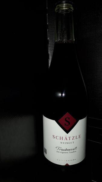 Roter Traubensaft Weingut Schätzle Kaiserstuhl