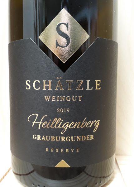 Heilligenberg Grauburgunder Réserve Magnum - Weingut Schätzle
