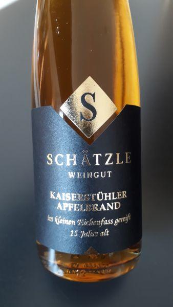 Kaiserstühler Apfelbrand 15 Jahre