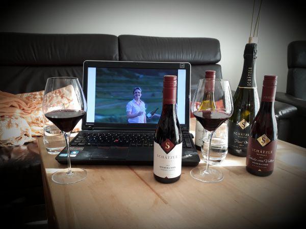 online Weinprobe exklusiv Weingut Schätzle Kaiserstuhl